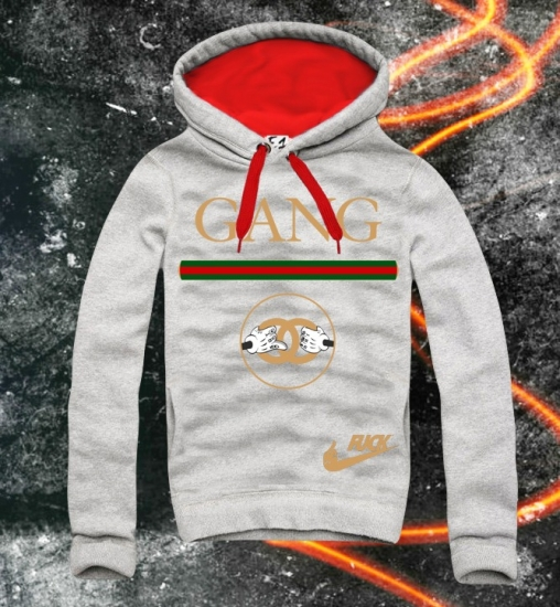 E1SYNDICATE Hooded Sweatshirt GANG G